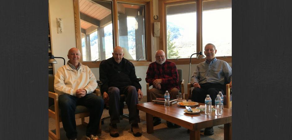 Thomas Keating, Tilden Edwards, Richard Rohr, and Laurence Freeman