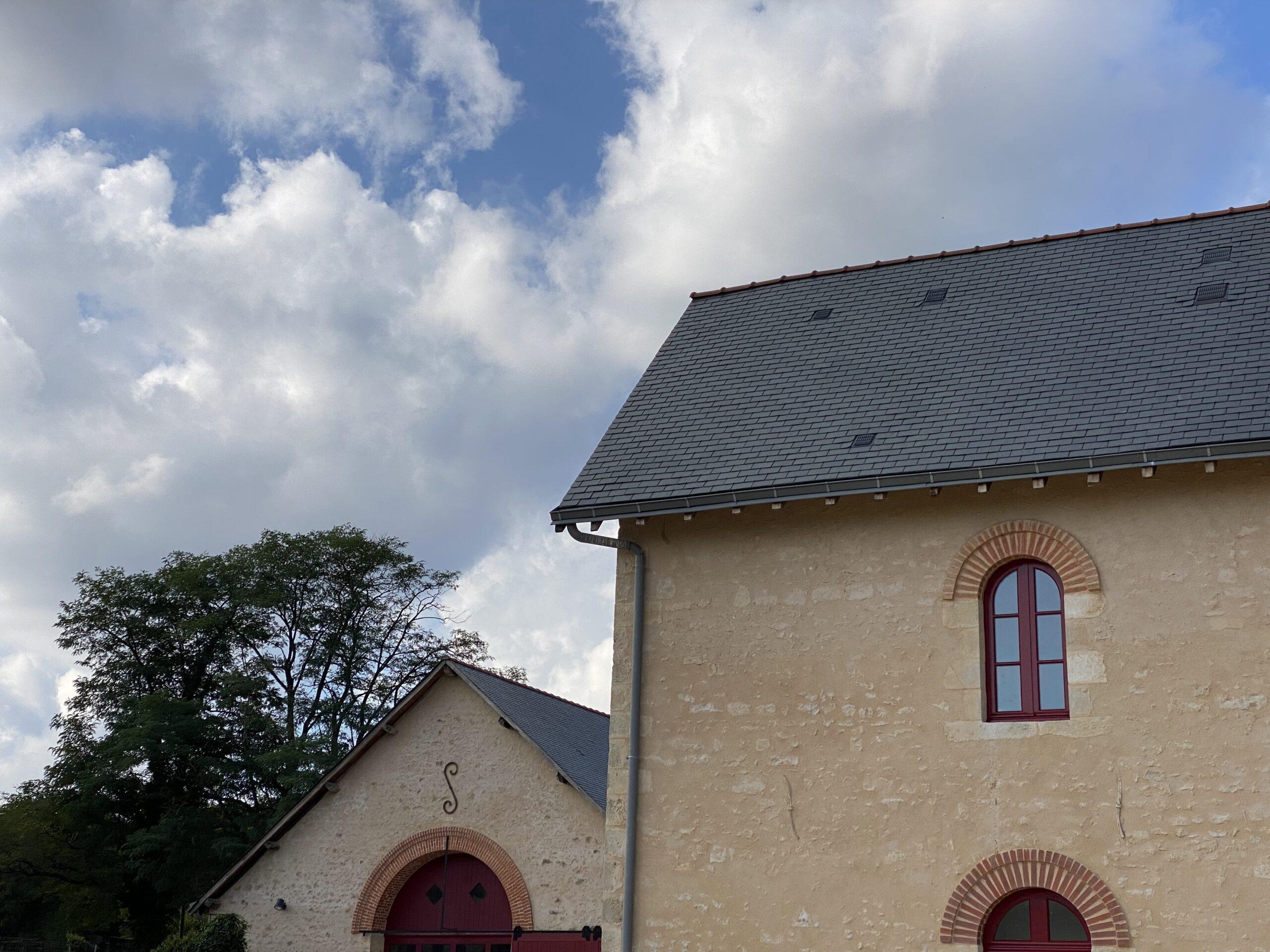 top of roof Bonnevaux